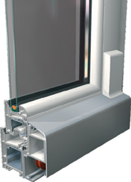 Vycer ventanas y cerramientos de pvc en cantabria for Puerta osciloparalela